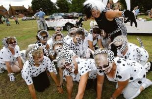101 Dalmations by Carol's aerobics classes.