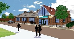 What's in store – artist's impression of the new Co-op