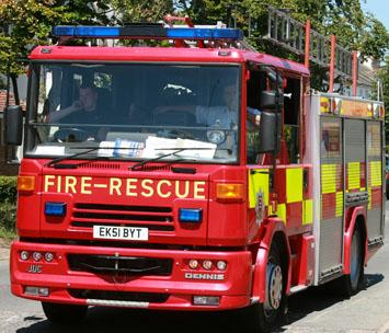Essex County Standard: Firefighters tackle blaze at truck yard