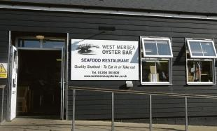 West Mersea Oyster Bar, Coast Road, West Mersea.