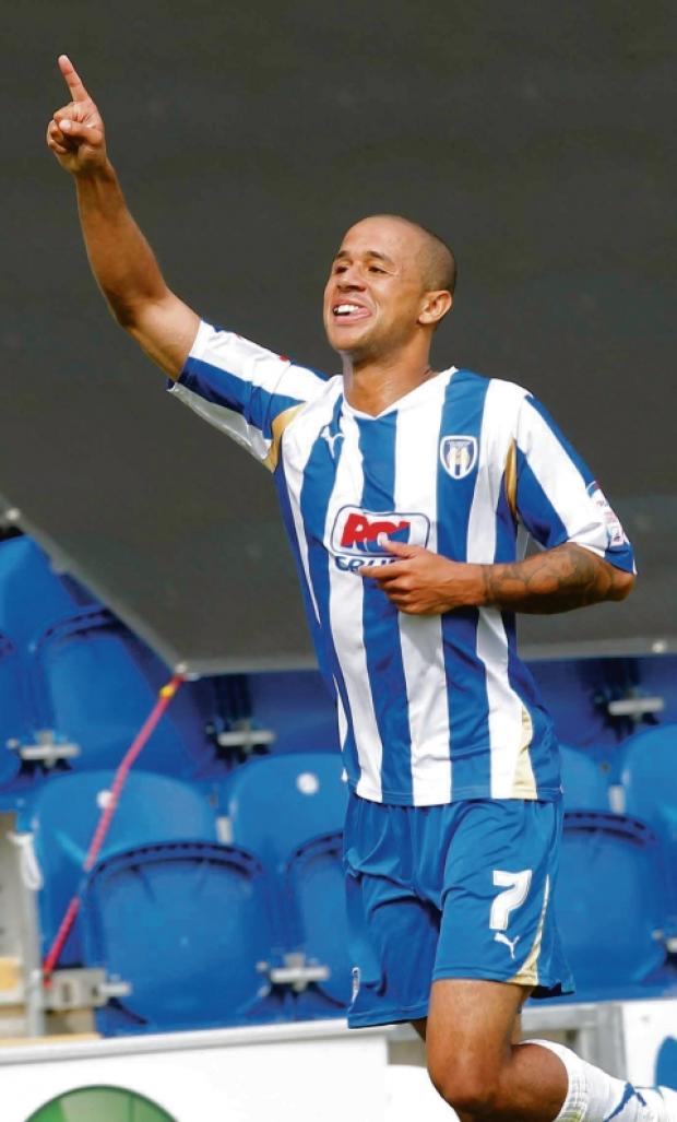 In action - winger Ashley Vincent is likely to feature for Colchester United's reserve side in their game against Luton Town, this afternoon.