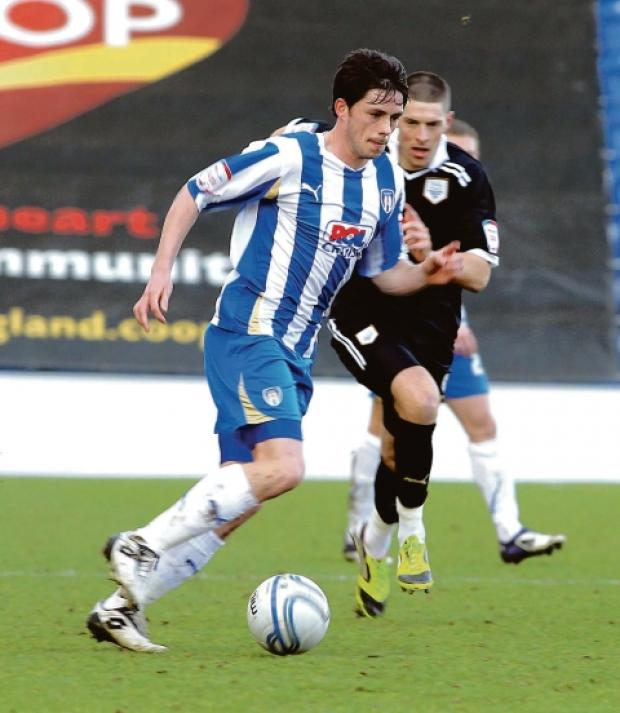 On target - Ian Henderson scored Colchester United's opener in their 1-1 draw with Sheffield Wednesday.