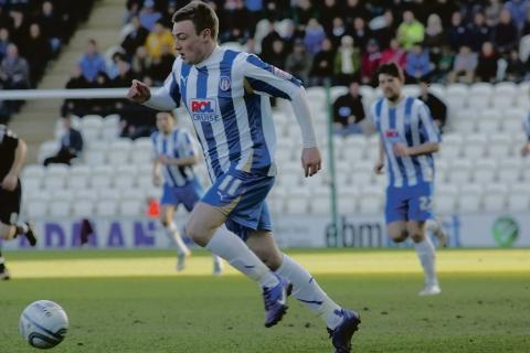 Fine finish - Freddie Sears came off the bench to secure Colchester United's win over Tranmere Rovers this afternoon.