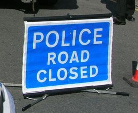 A120 crash closes road
