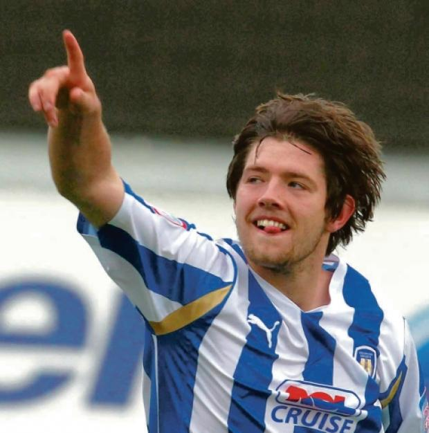 Responsibility - midfielder Anthony Wordsworth came of age for Colchester United in the 2011-12 season.