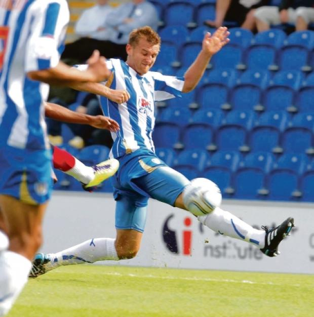Chance to shine - Matt Heath is likely to feature for Colchester United's reserves against Oxford United this afternoon. Picture: STEVE BRADING (CO46502-05)