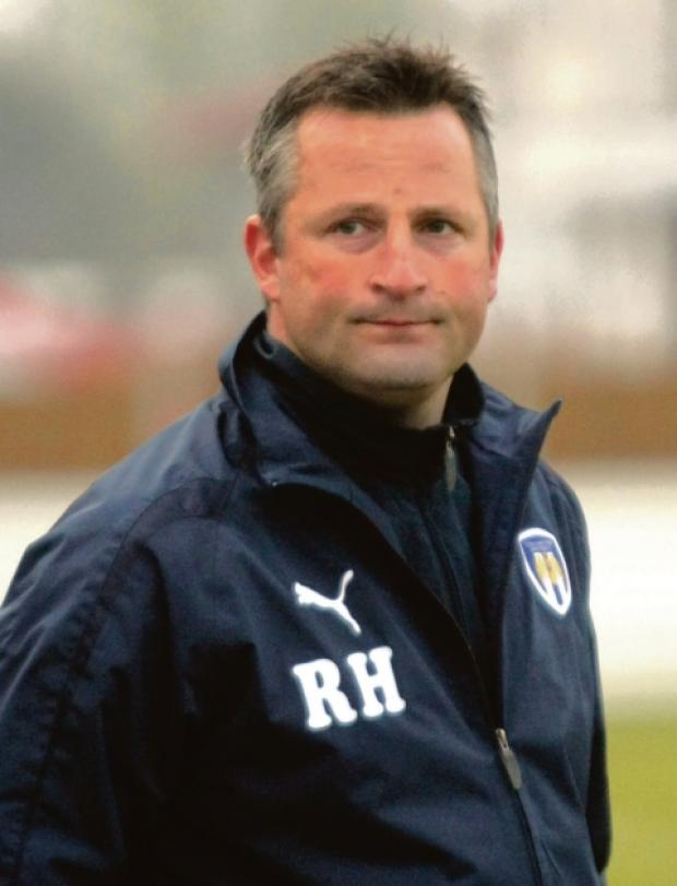 Chance to impress - Richard Hall's talented U's youngsters will be on show tonight.