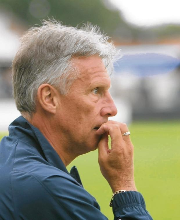 Happy - U's boss John Ward has said he is unlikely to make any further signings this summer. Picture: SEANA HUGHES (CO60186-10)