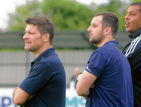 Witham's management team of (from left) Garry Kimble, Brad King and John