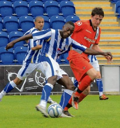 Fresh start - Freddie Ladapo has left Colchester United to join Skrill Premier outfit Kidderminster Harriers.