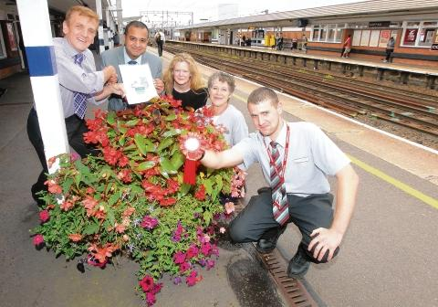 Train staff scoop surprise award