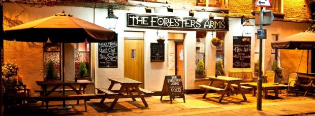 DEAL OF THE DAY: Free cake with hot drink at the Forester Arms