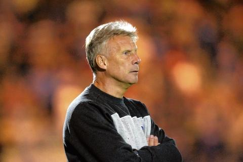 Backing - manager John Ward has the full support of the Colchester United board, despite the U's disappointing start to the season.