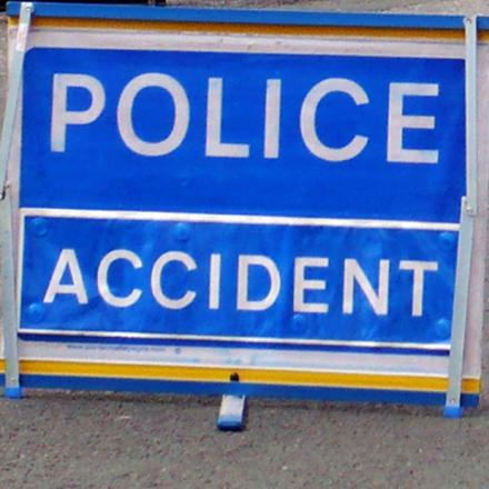 Woman taken to hospital after A120 accident