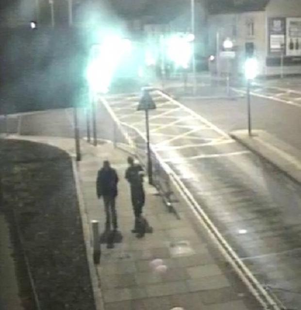 Do you recognise the men in this CCTV image?