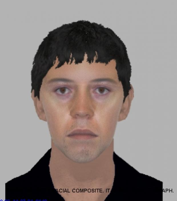 Police would like to speak to this man in connection with an attempted robbery in Colchester