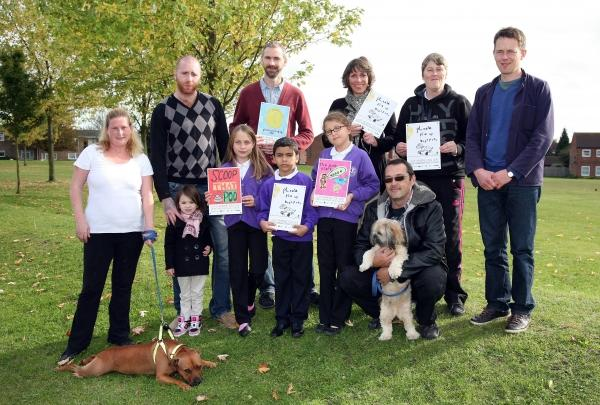 Greenstead youngsters tell residents to clear up green spaces