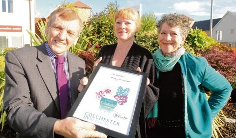 Taylor Wimpey recognised with Colchester in Bloom award