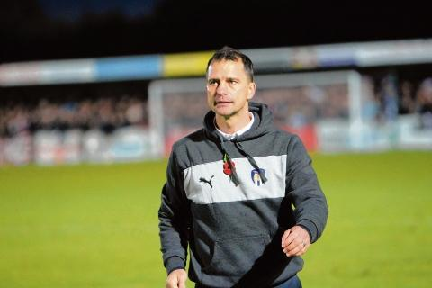 Disappointed - U's boss Joe Dunne was left dejected after his side were beaten at Crawley Town but felt there were some positives from his side's performance.