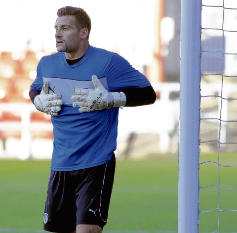 New face - John Sullivan said he jumped at the chance to join Colchester United on a month's loan. Picture: WARREN PAGE