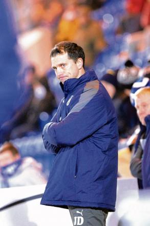 Disappointed - U's boss Joe Dunne felt his side deserved more from their game at Doncaster Rovers.