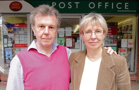 David and Jayne Evison, of Lighters post office and newsagents, Highwoods, are asking customers to use the store or lose it.