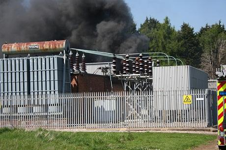 While UK Power Networks John Higgins engineer worked on a piece of equipment, there was an explosion at the site in Chelmsford and he was engulfed in burning oil.