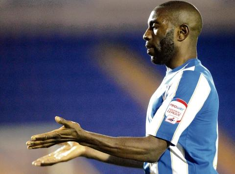 Hope - Jabo Ibehre said is open to making a permanent move to Colchester United in the transfer window. Picture: STEVE BRADING