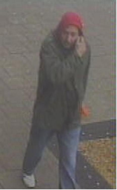 Police issued this CCTV image of Jamie Toomey