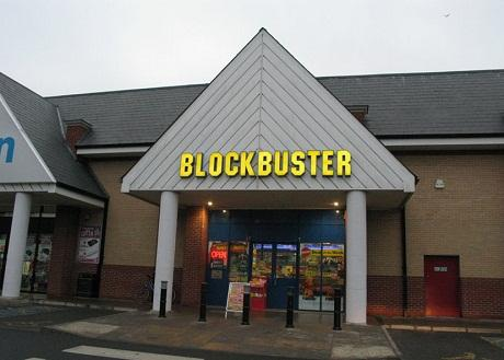 Blockbuster hands over to administrators