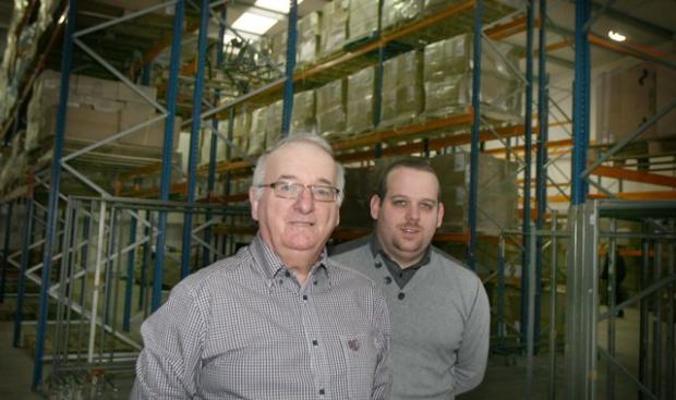 Success story: Ray Stephens, managing director at Argo, and son Matt.