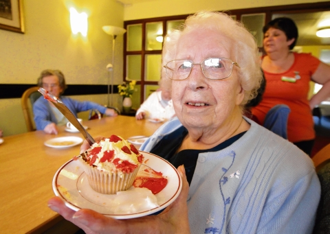 Care home feels the love on Valentine's Day