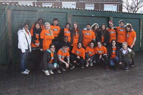 Members of the Essex University Students' Union vTeam.