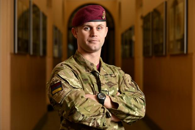 Corporal Daniel Rudge, of Colchester-based 16 Medical Regiment, has been recognised for his bravery after saving the lives of four men while under fire.