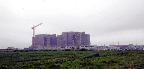 A library picture of Bradwell power station