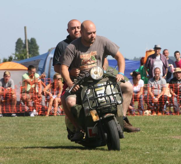 Mersea Island hosts scooter rally