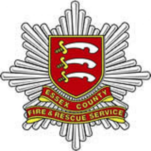 Essex County Standard: Fire crews tackle workshop fire in C