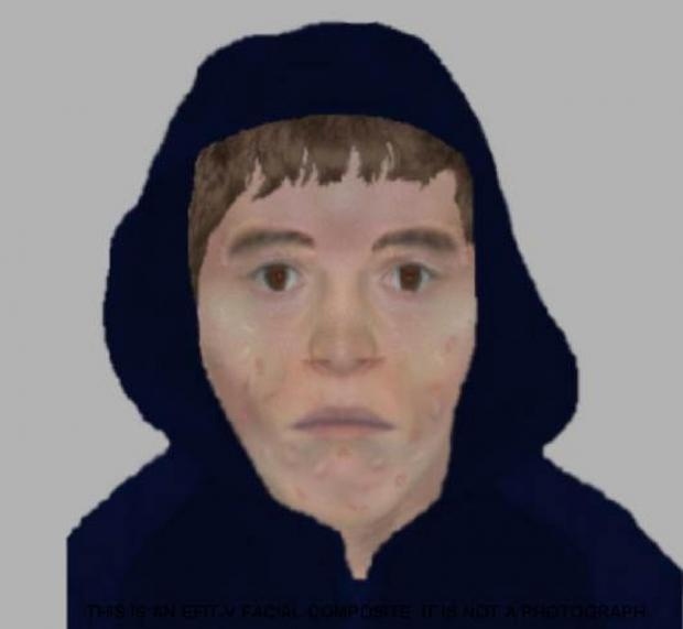 Essex County Standard: E-Fit of suspect