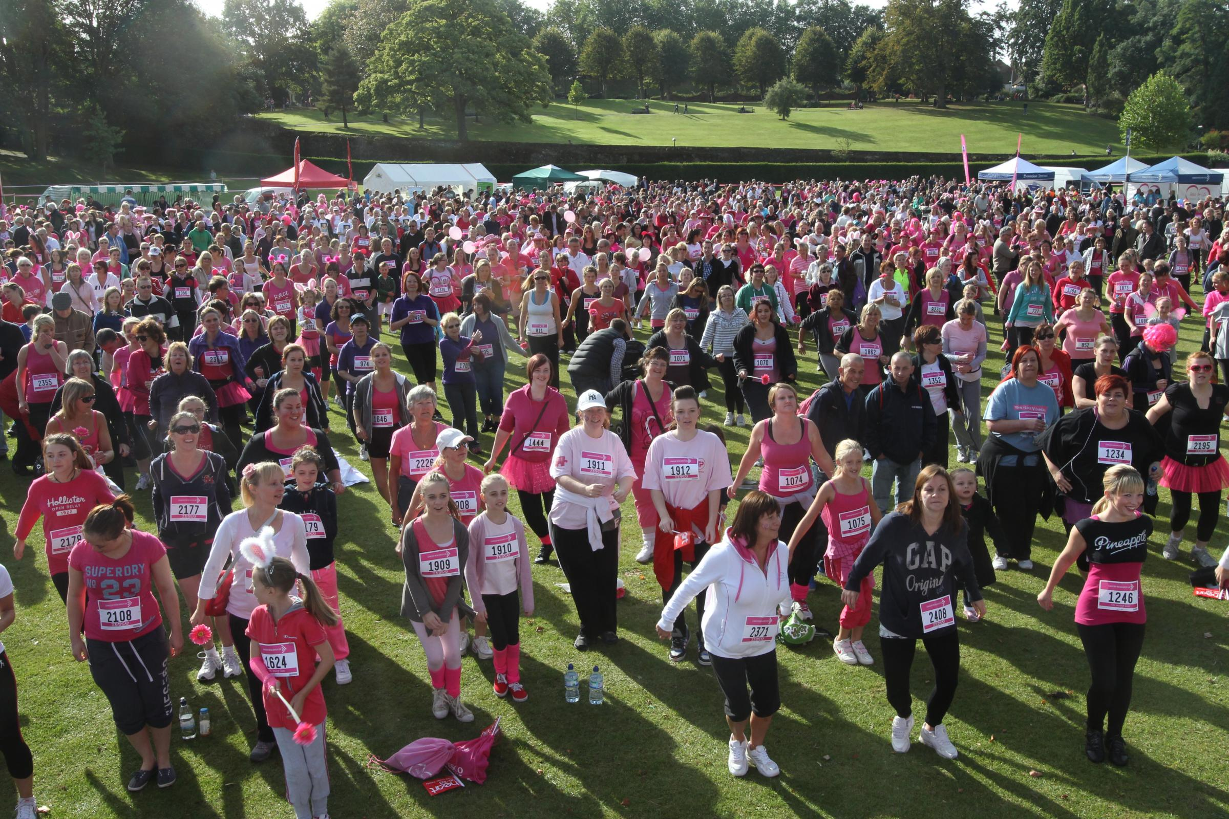Race for Life returns to Colchester