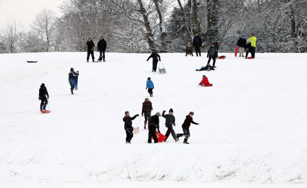 Essex County Standard: Flashback to Hilly Fields, Colchester in January 2013