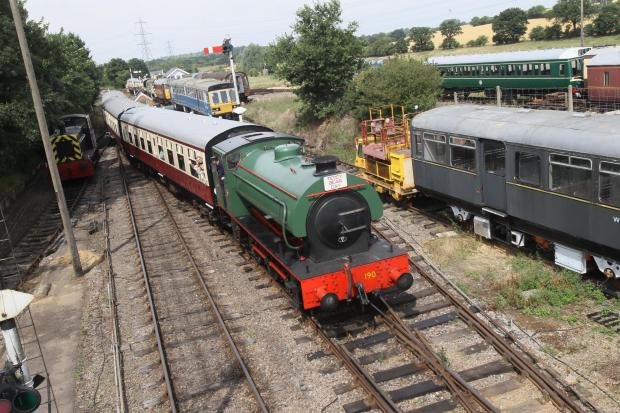We've got a year to save Colne Valley Railway