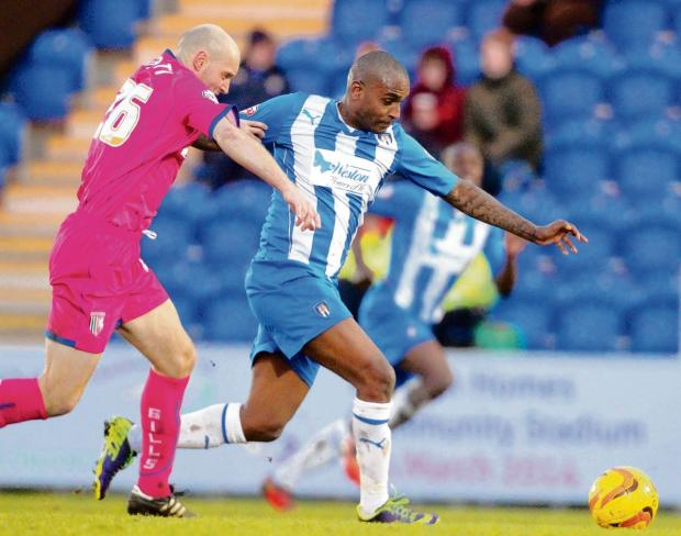 Waiting game - Clinton Morrison is one of a number of players out of contract at Colchester United at the end of the season. Picture: SEANA HUGHES (CO89001-18)