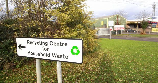 Recycling centres could close