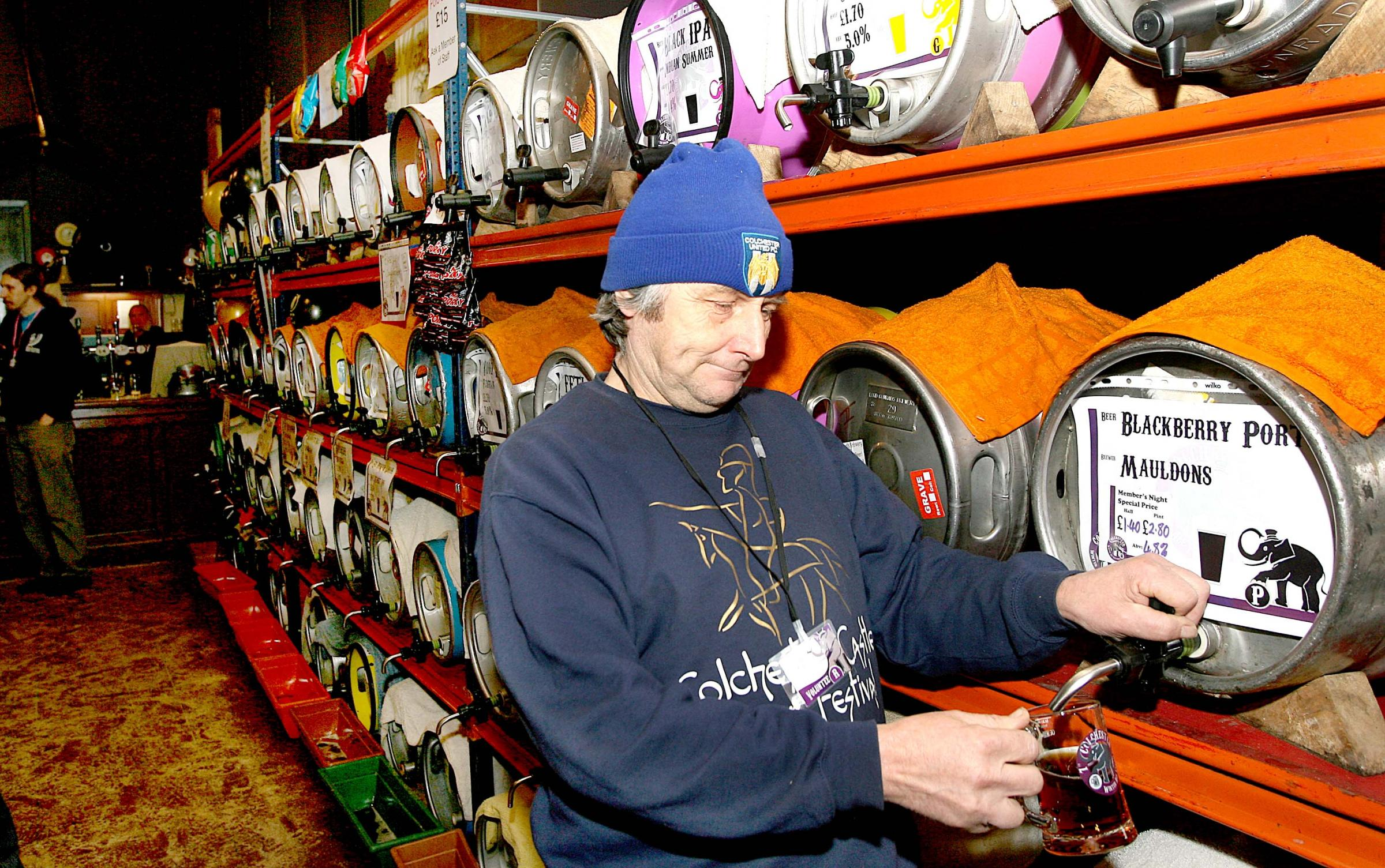 Record numbers flock to Winter Ale Festival