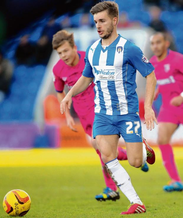 Essex County Standard: Discussions - Luke Garbutt will meet with parent club Everton early next month about the possibility of extending his loan spell at Colchester United.