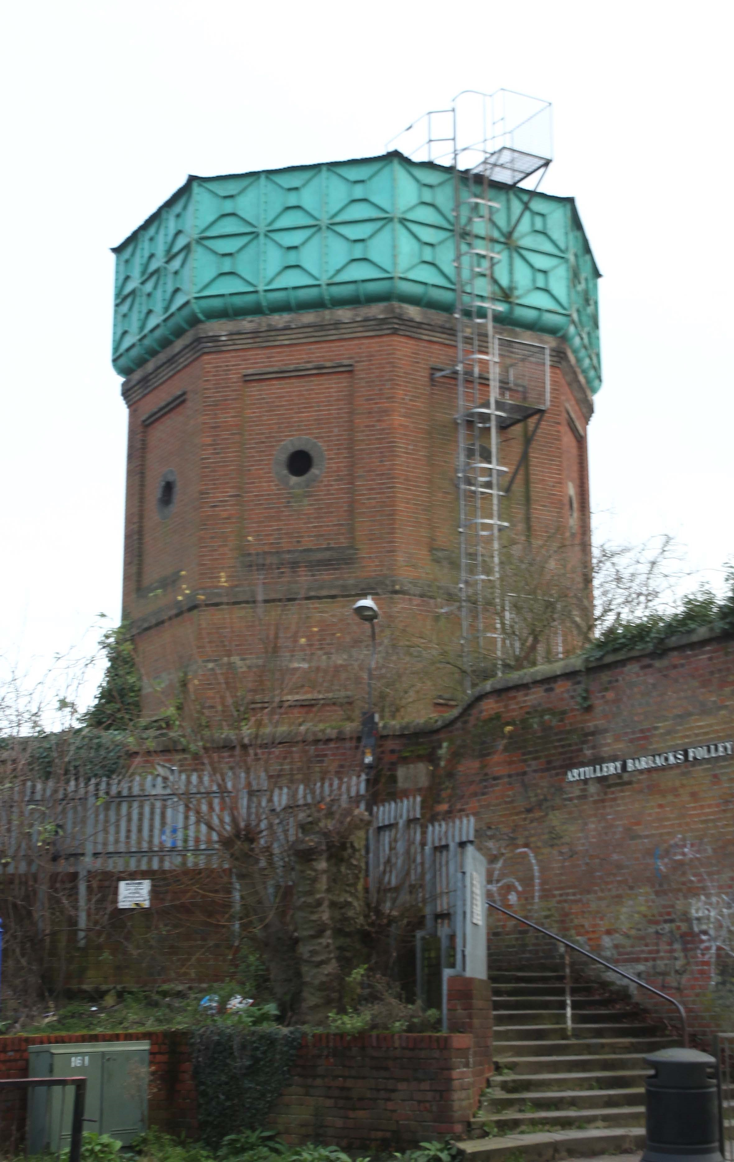 MoD water tower sold to mystery buyer