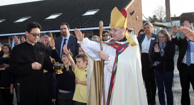 Essex County Standard: Blessing for our school's new building