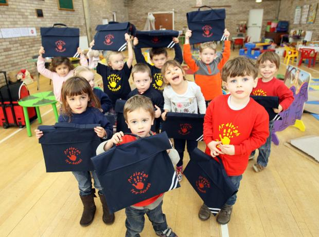Essex County Standard: Little ones get a taste of primary school