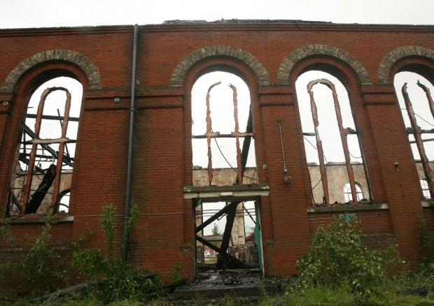 Community centre and church to rise from ashes