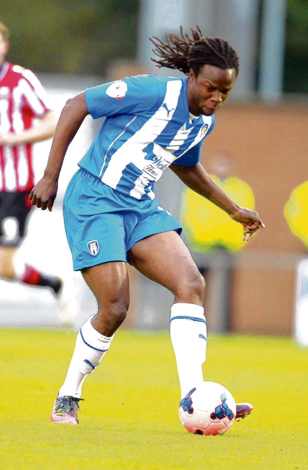 Ready for action - Marcus Bean is keen to get back on the pitch and help Colchester United continue their good form in League One. Picture: STEVE BRADING (CO86650-05)